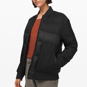 Lululemon Roam Far Wool Bomber